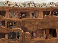 Underground City Plan