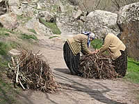 Village Ladies Working